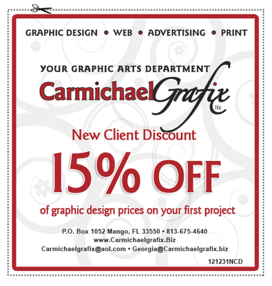 New client discount 15% off